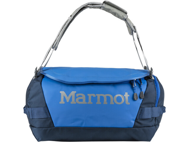 Marmot Long Hauler Duffel Bag Pequeño, peak blue/vintage navy